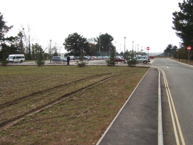 Car Park, University of Exeter