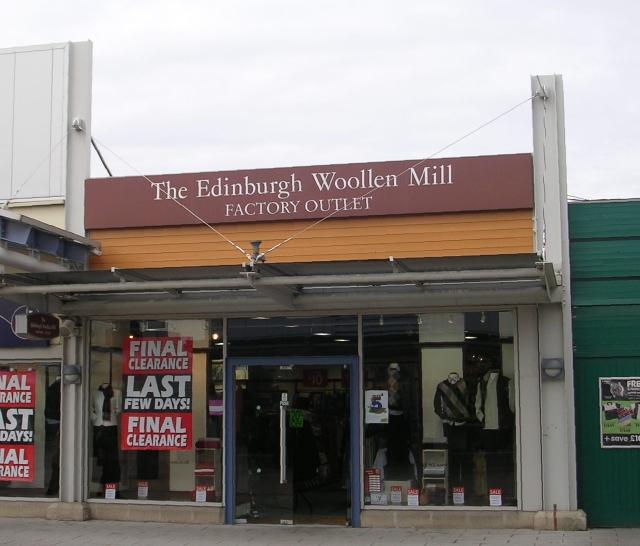 The Edinburgh Woollen Mill - Junction 32