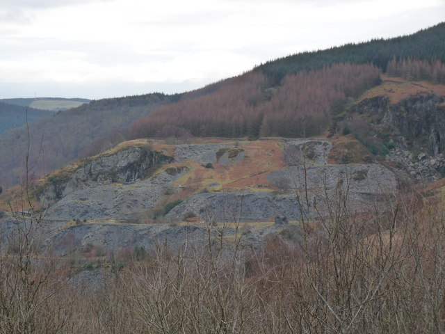 Corris Uchaf Quarry