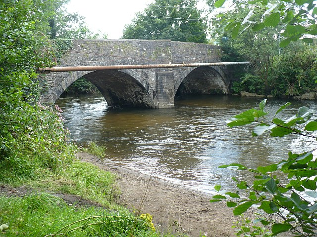 Bridge across the River Rhymney, Bedwas