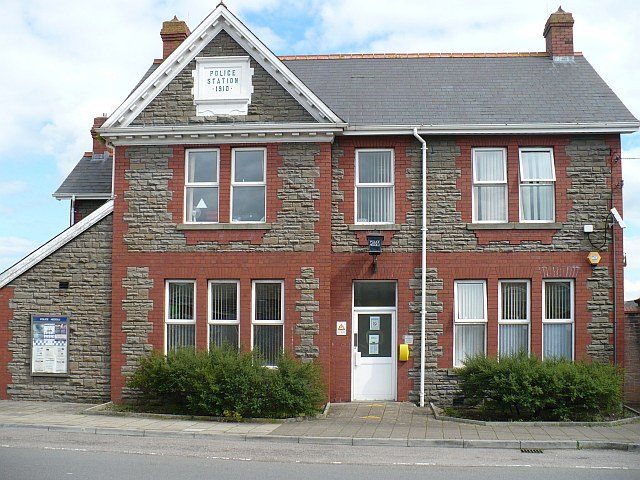 Bedwas Police Station