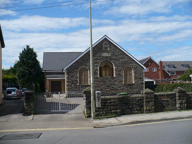 Wesleyan Methodist Church, Church Street, Bedwas