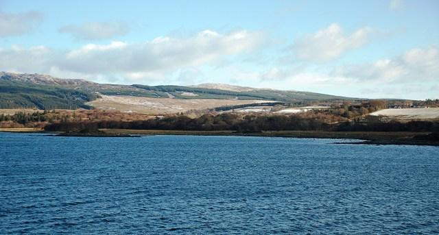 Kilchamaig Bay