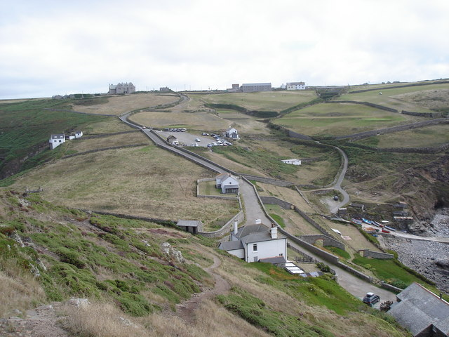 View inland from Cape Cornwall