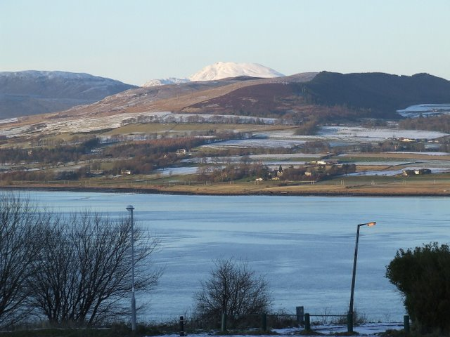 Selkirk Road, River Clyde and Ben Lomond