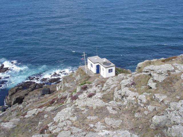 Cape Cornwall - the coastguard station