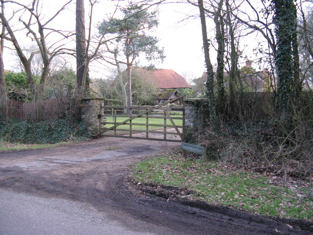 Gateway to Great Slifehurst Farm