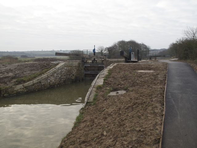 Lower Pound Lock, Bude Canal