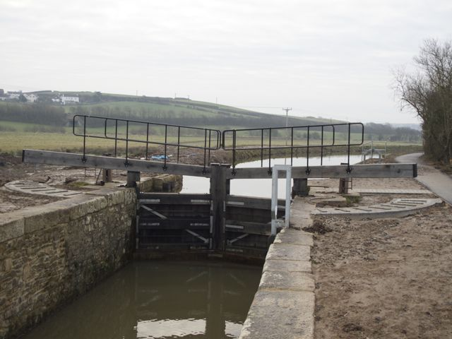 Upper Pound Lock, Bude Canal