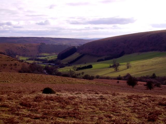 Cwm Milo, looking South