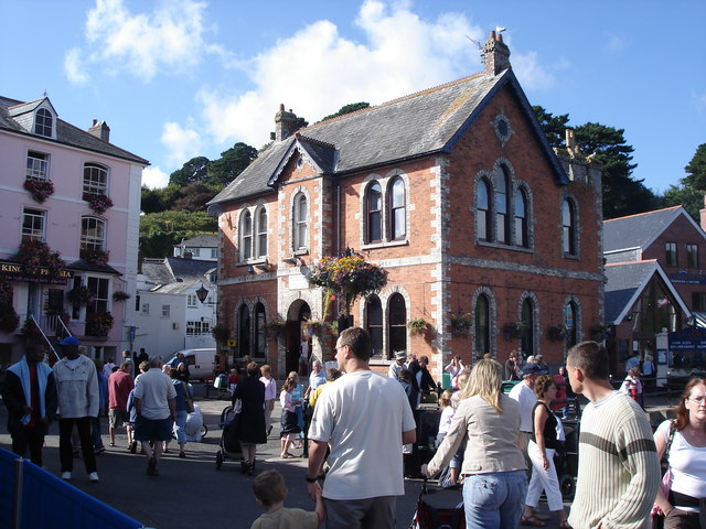 Fowey - by the harbour