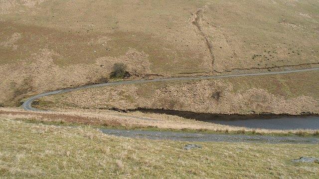 Nantybeddau arm, Claerwen Reservoir