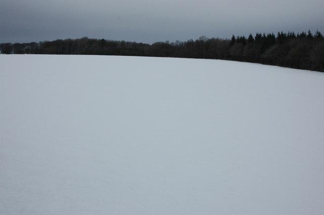 Cotswold winter landscape