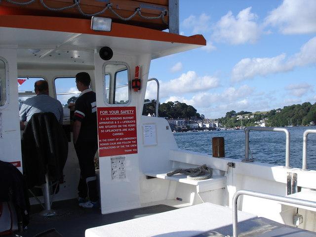 On the Polruan-Fowey ferry
