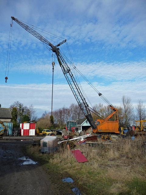 Old Crane at White Oak Farm