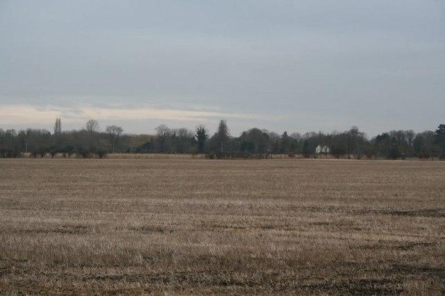 North Stoke across the field.
