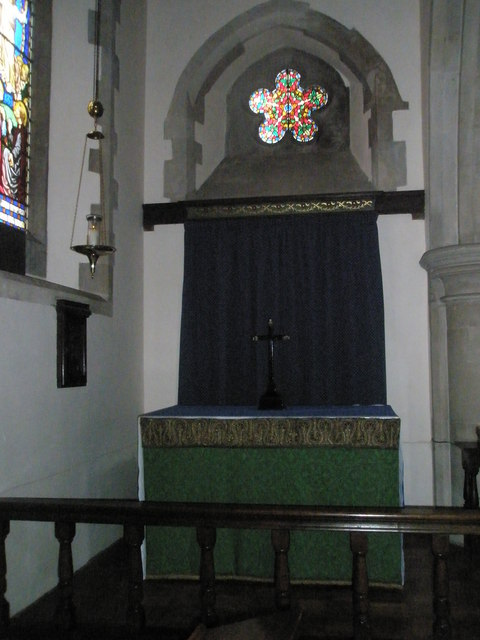 Side altar at St Mary the Virgin, Datchet
