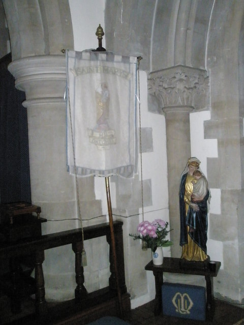 Banner within St Mary the Virgin, Datchet