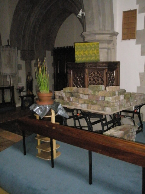 The pulpit at St Mary the Virgin, Datchet