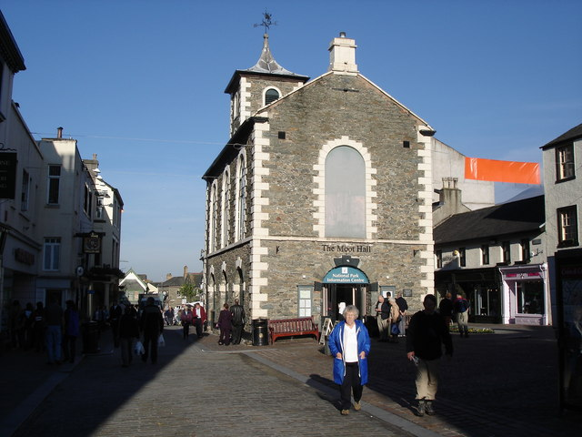 Keswick - the Moot Hall