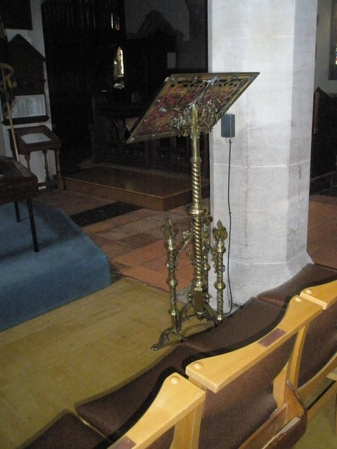 The lectern at St Mary the Virgin, Datchet