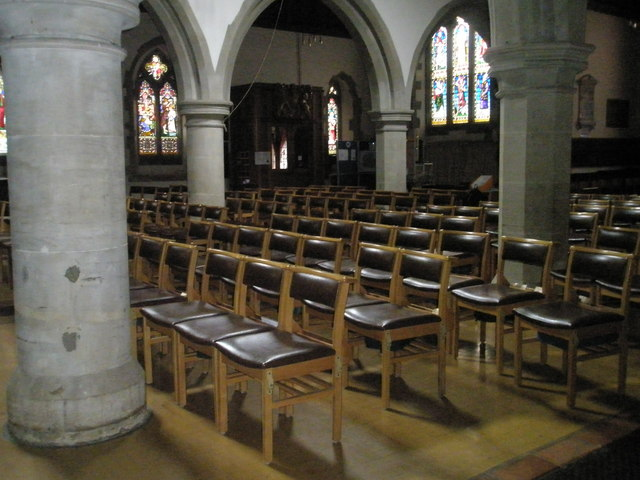 The nave at St Mary the Virgin, Datchet