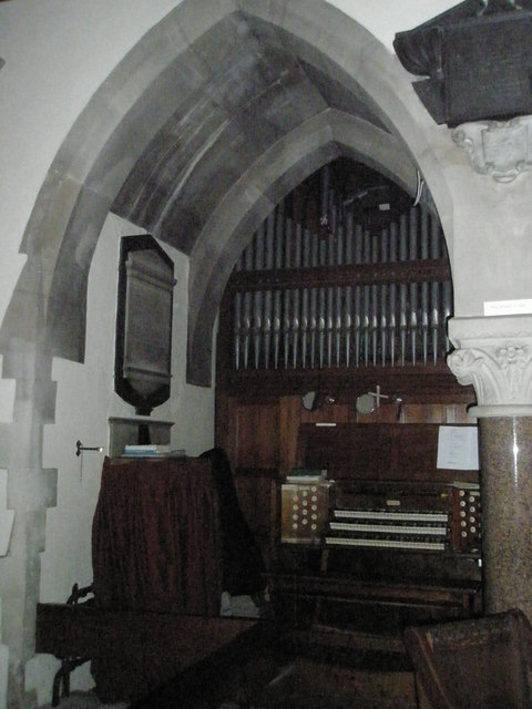 The organ at St Mary the Virgin, Datchet