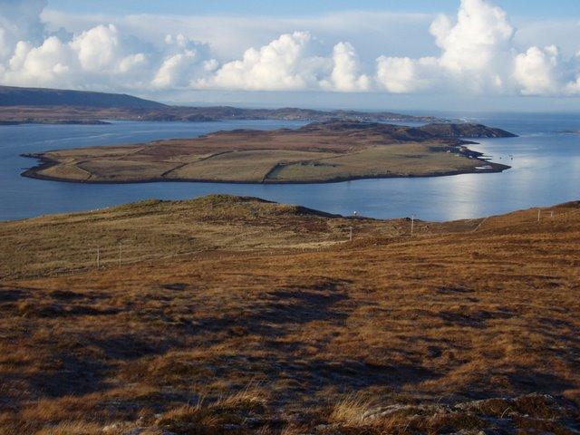 View towards Isle of Ewe