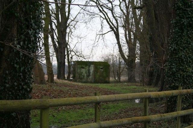 Pill box in the garden