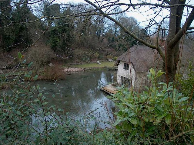 Cottage in old watercress beds Letcombe Regis