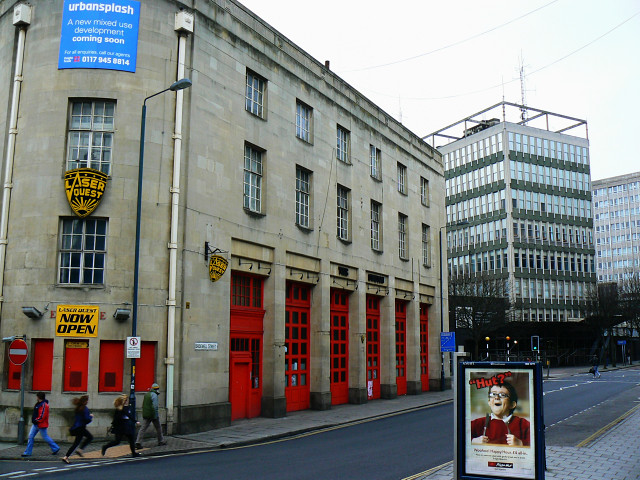Old fire station, Bridewell Street, Bristol