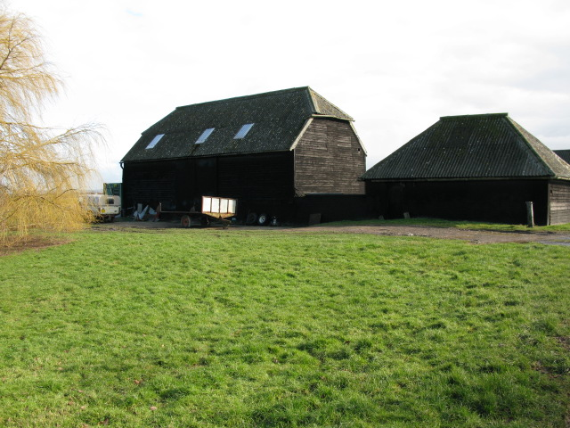 Farm buildings at Little Walmestone