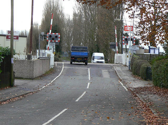 Burton Joyce level crossing