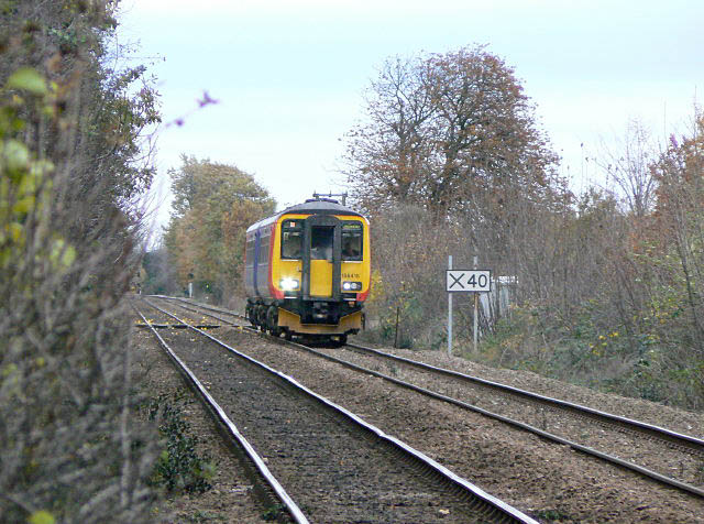 Near Trent Lane crossing
