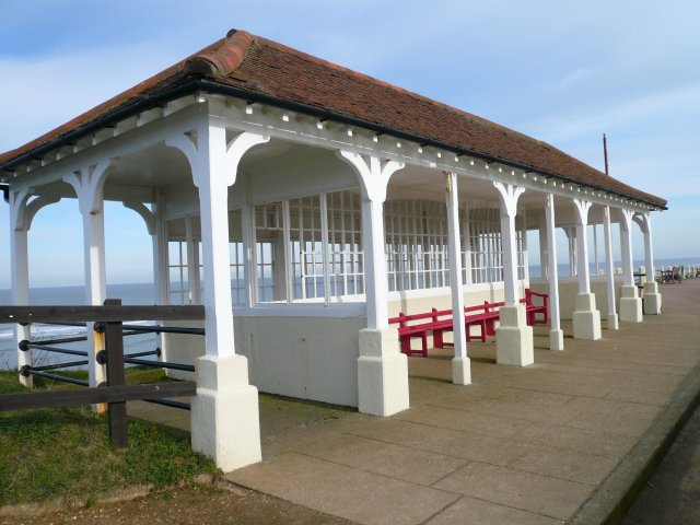 Victorian sea front shelter