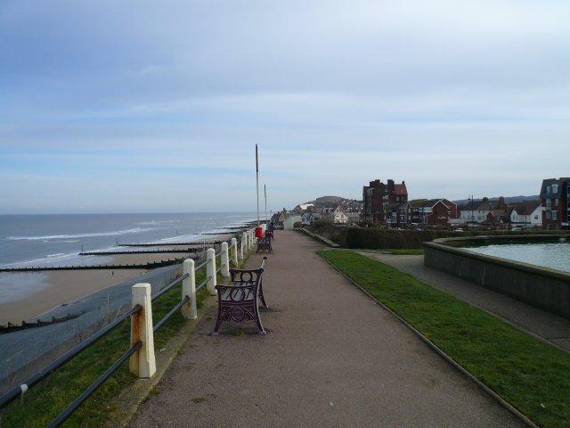 Sea front path