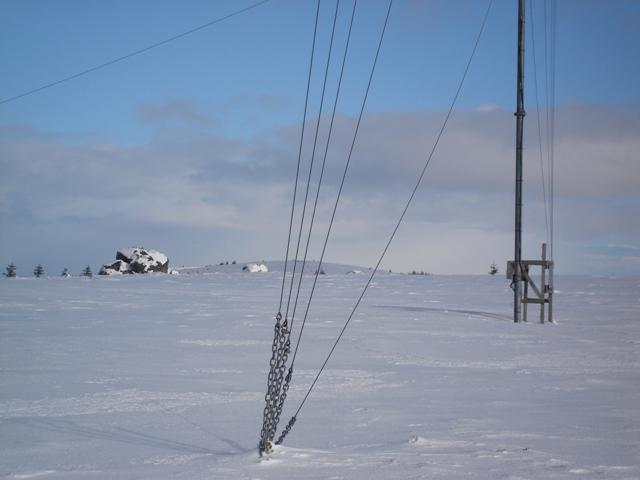 Weather mast
