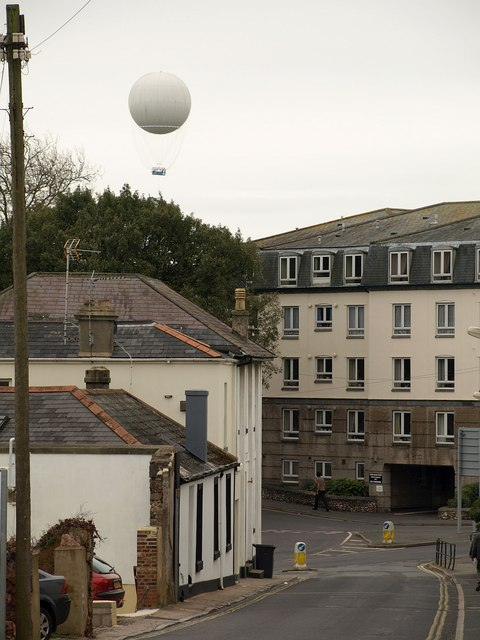 Balloon over Teignmouth Road, Torquay