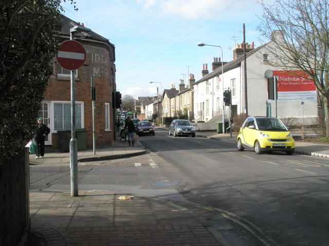 Junction of North Walls and Upper Brook Street