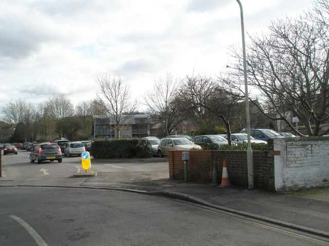 Car park in Gordon Road