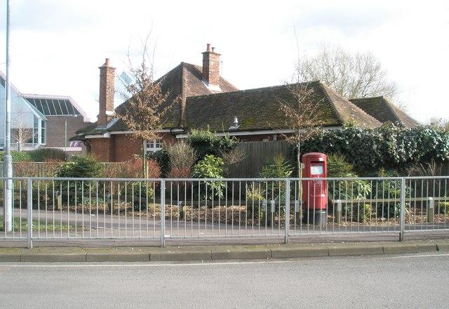 Postbox in Gordon Road