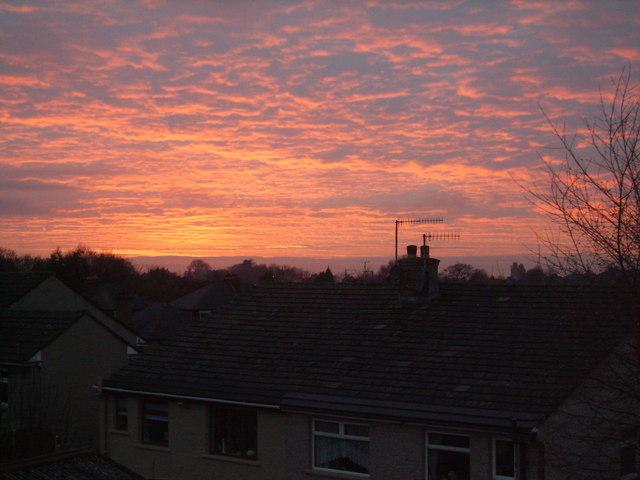 Bowerham Sunset