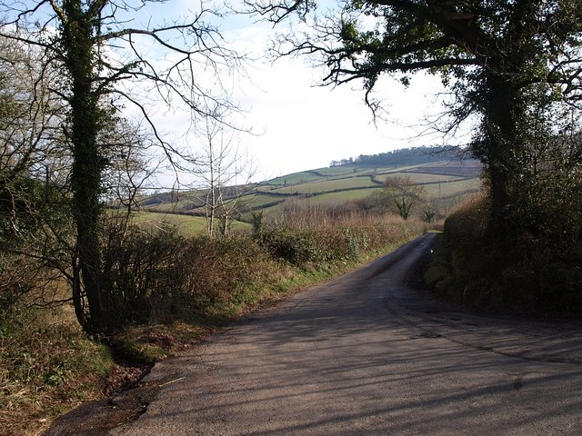 Lane to Ashcombe Adventure Centre