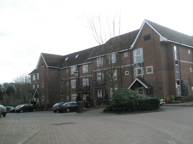 An apartment block in Marston Gate