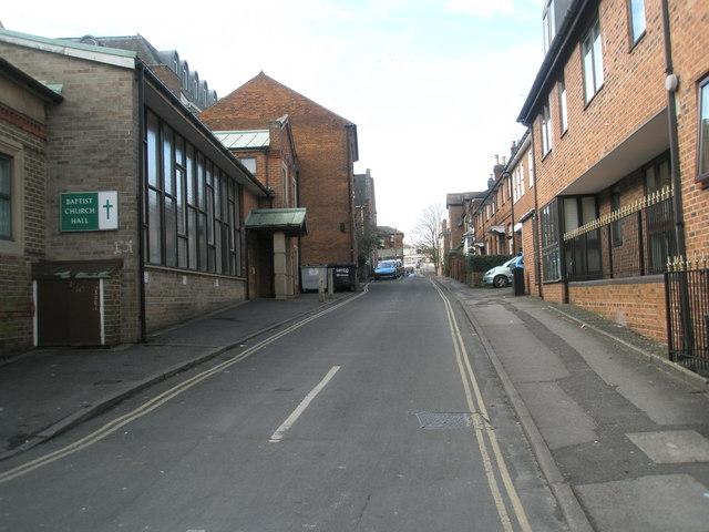Baptist Church Hall in Swan Lane