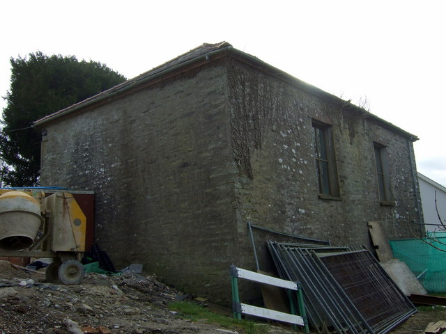 Rear of old chapel