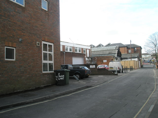 Mid section of Swan Lane