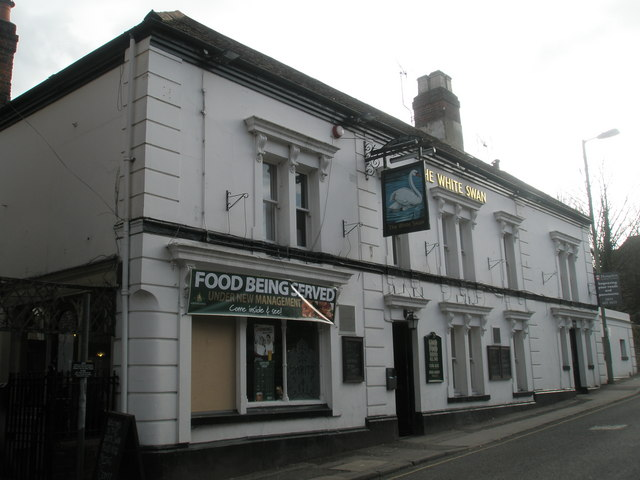 The White Swan in Hyde Street