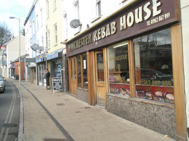 Winchester Kebab House in Stockbridge Road
