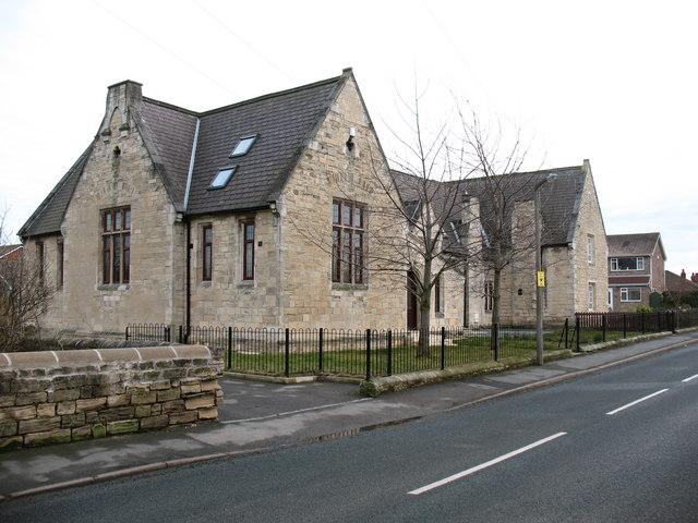 Former school, Monk Fryston
